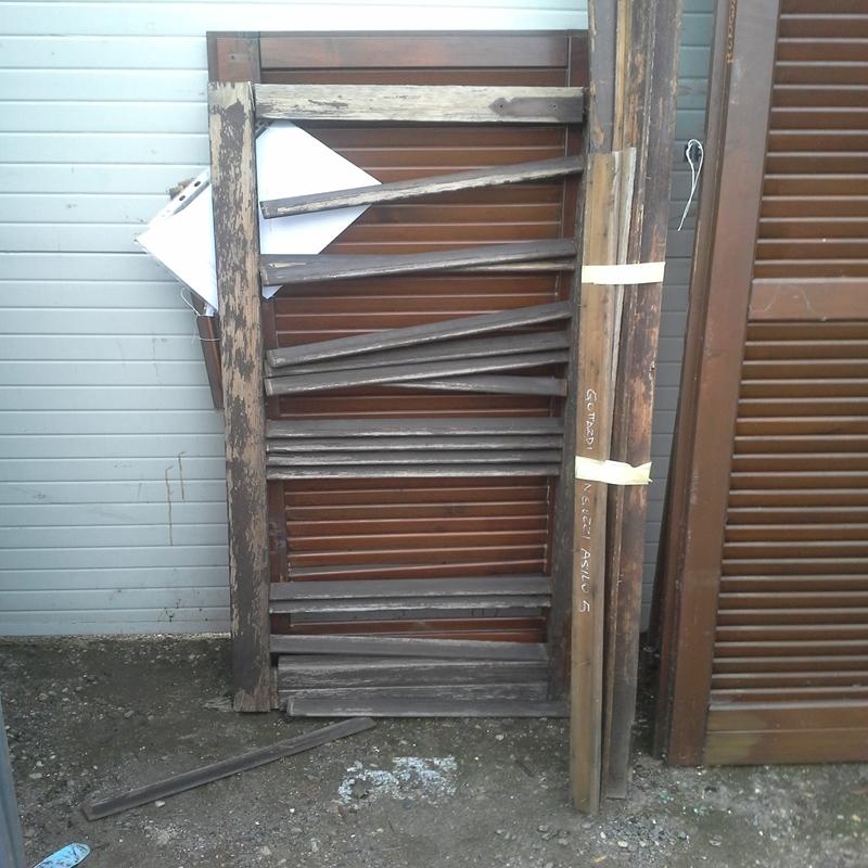 griglia stecca aperta