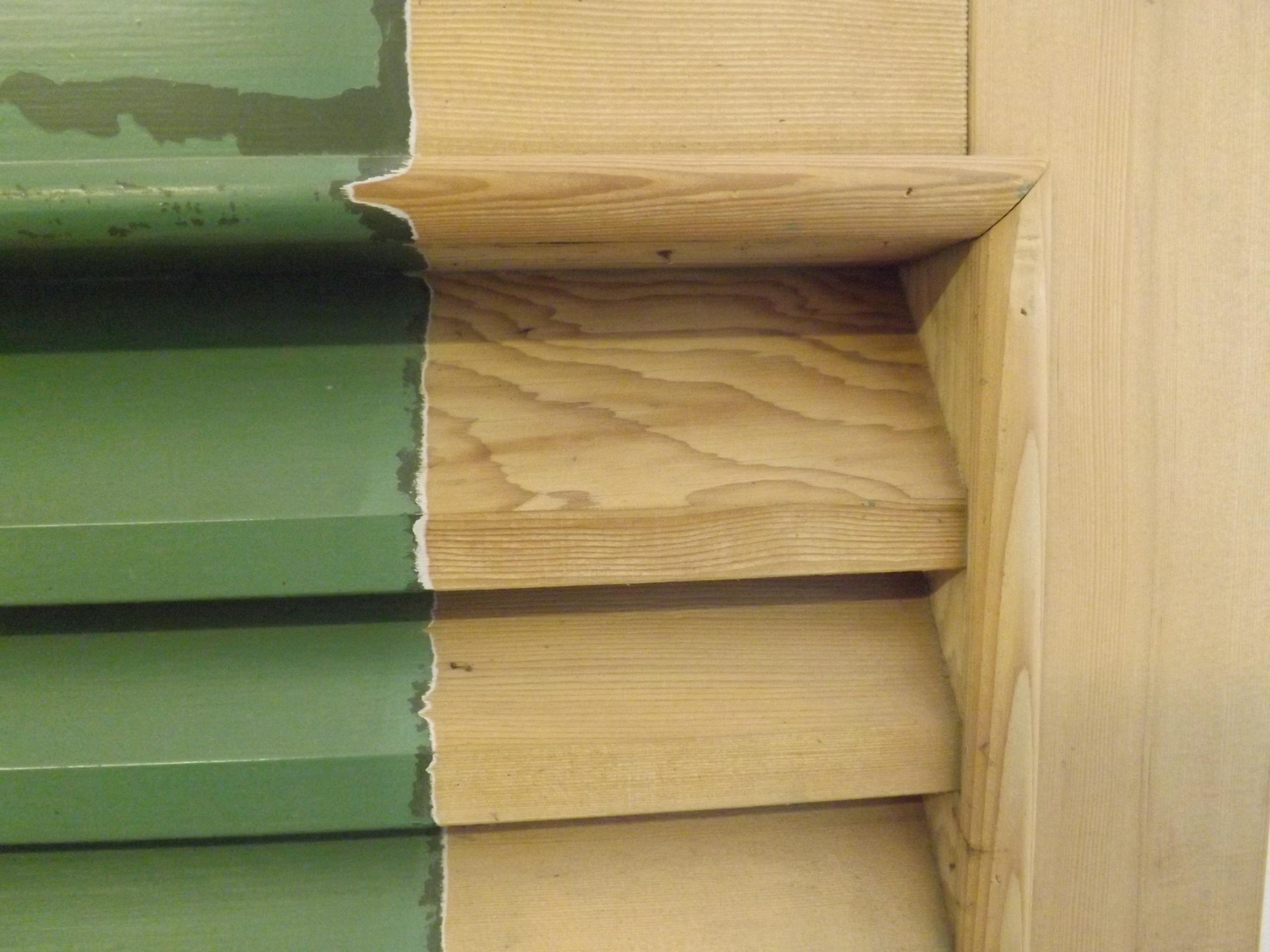 Rilegno - sverniciatura persiane in legno