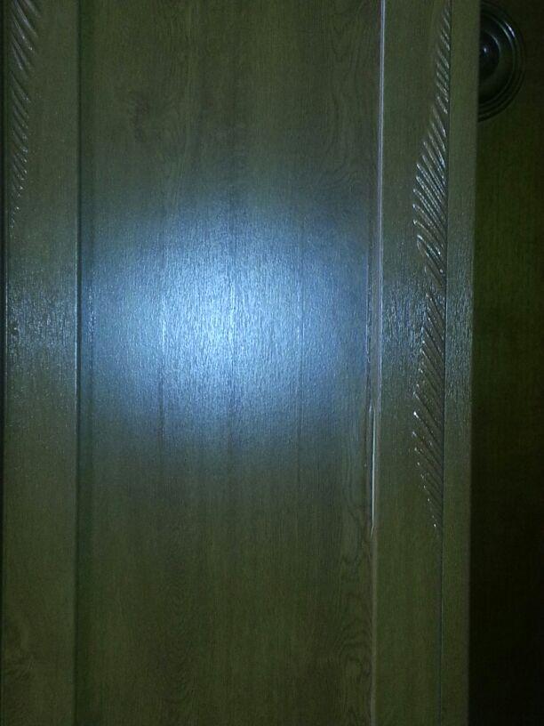 antone in PVC rovinato