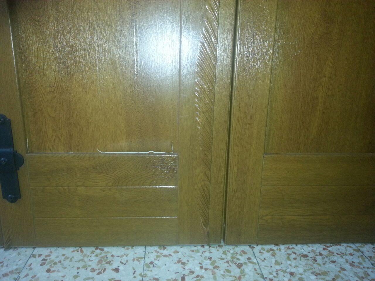 antone esterno PVC scollato