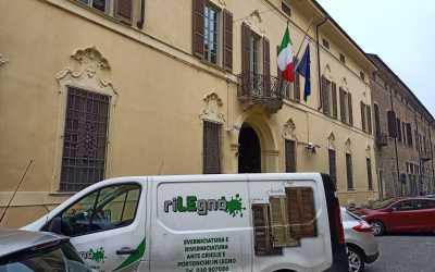 Ristrutturazione persiane Questura di Cremona
